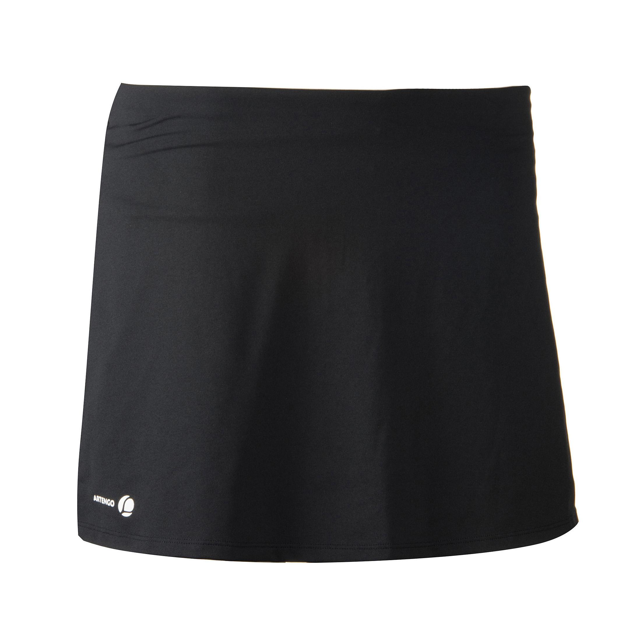tennisrokje artengo essential dames zwart