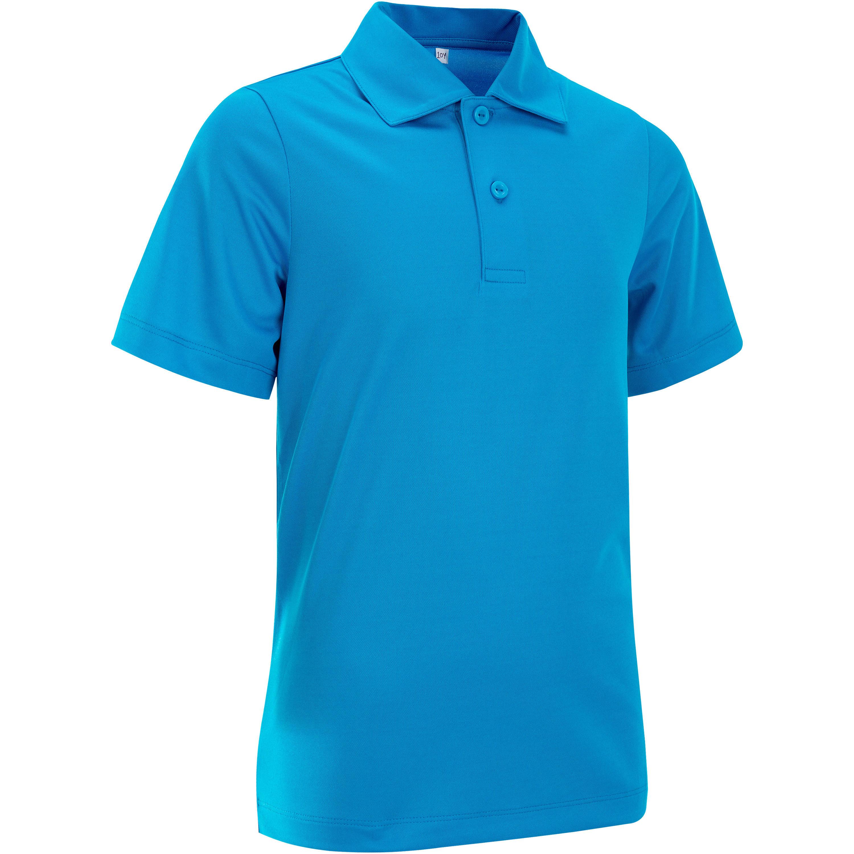tennisshirt kinderen artengo essential polo blauw